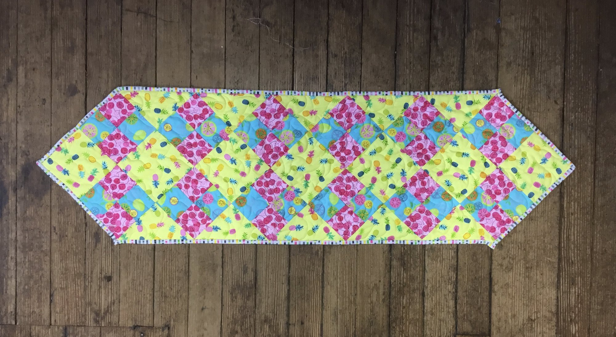 Tropical Fancy Four-Patch Fabric Kit