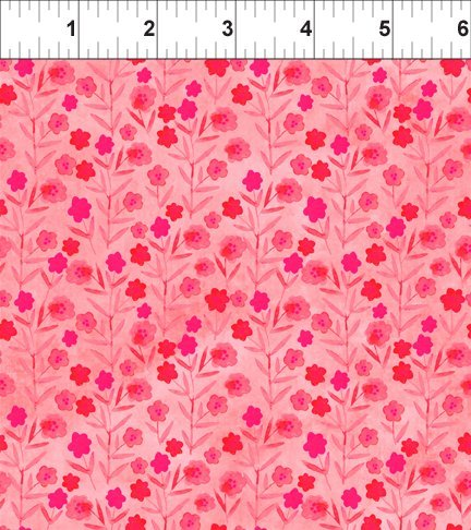 Floral Menagerie Posies Pink 5FMB1