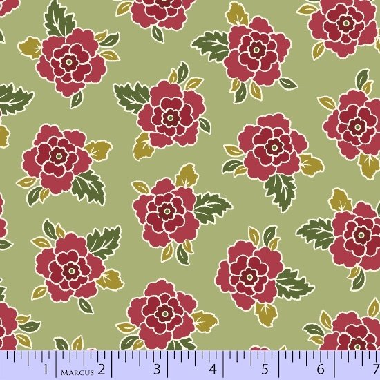 Cottage View Green Floral Sale Bundle 1