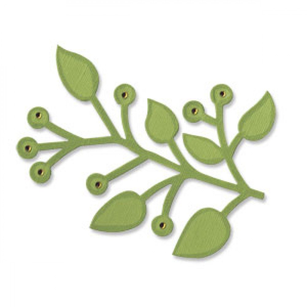 Sizzix Bigz Die Branch with Leaves 656212