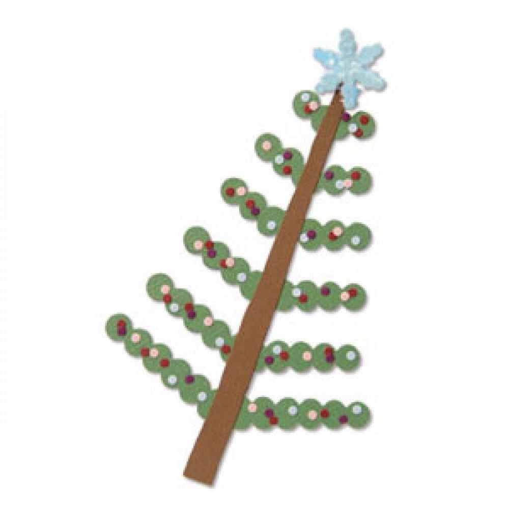 Sizzix Bigz Die Tree, Christmas and Snowflakes