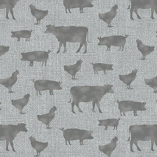 Farm Sweet Farm Farm Animals Grey