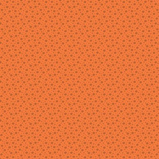 Pumpkin Spice Orange Crosshatch
