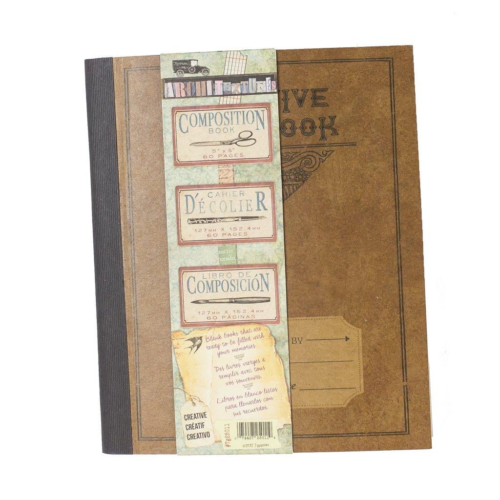 Mini Composition Book - Creative Notebook