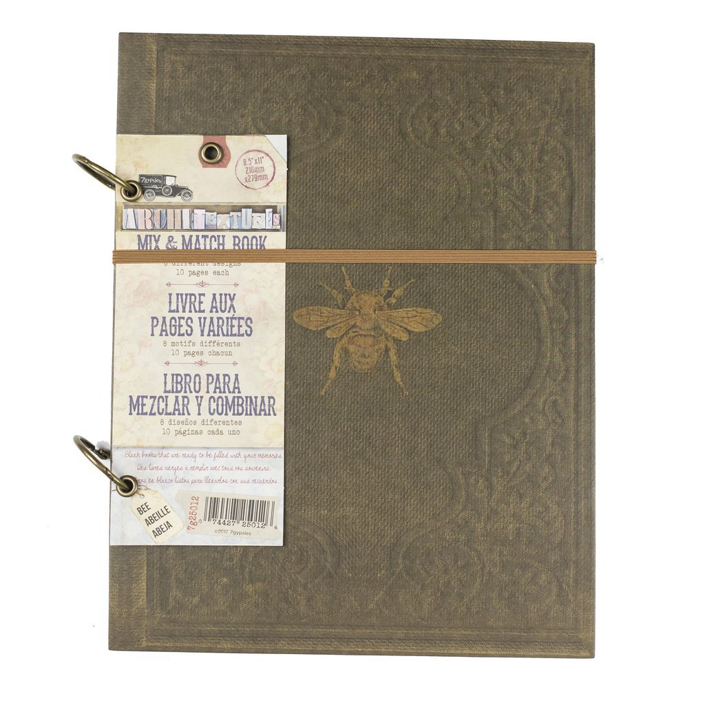 Mix & Match Book-Bee 8.5x11