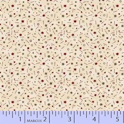 Pieceful Pines Cream Dot by Pam Buda