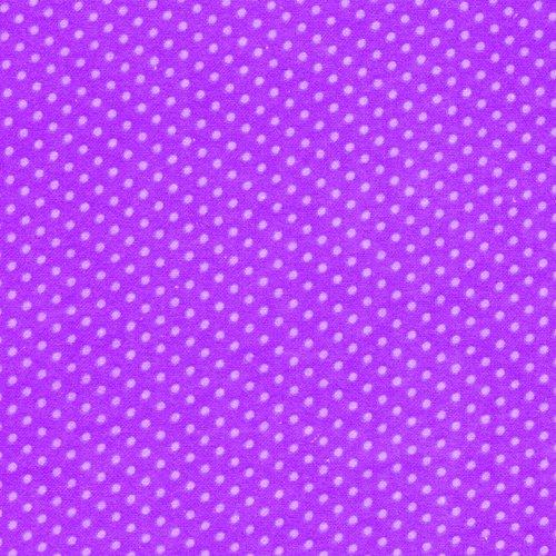 Fabri-Quilt Purple Flannel Dots