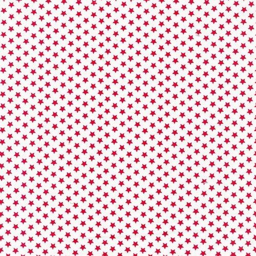 Classique Stars White/Red