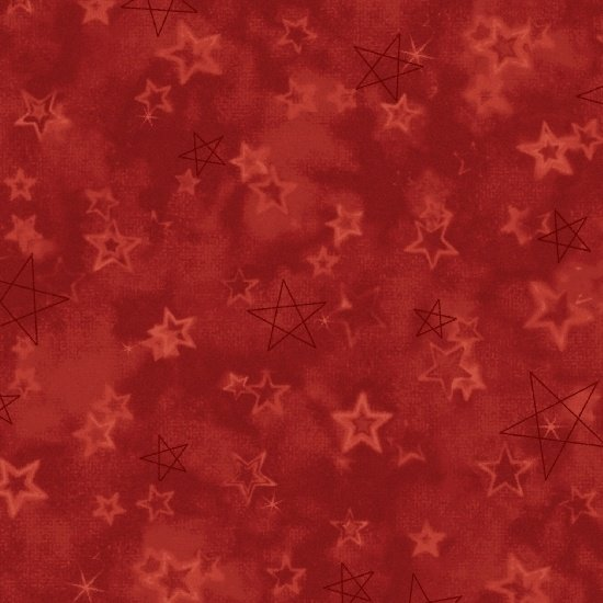 Songbook Red Star Print