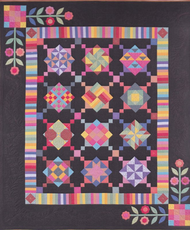 Amish with a Twist 1 Quilt Kit