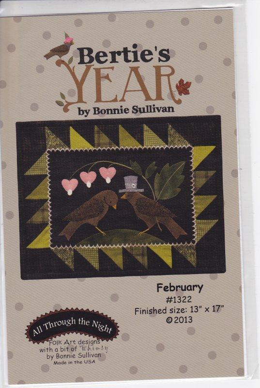 Bertie's Year February