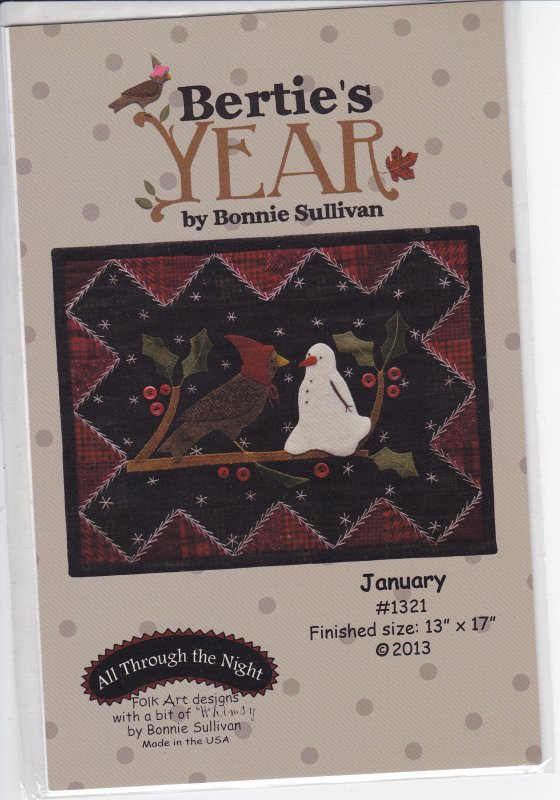 Bertie's Year January