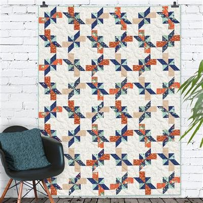 Bloom Wildly Pinovations Quilt Kit