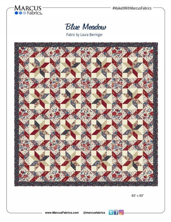 Blue Meadow FREE Pattern