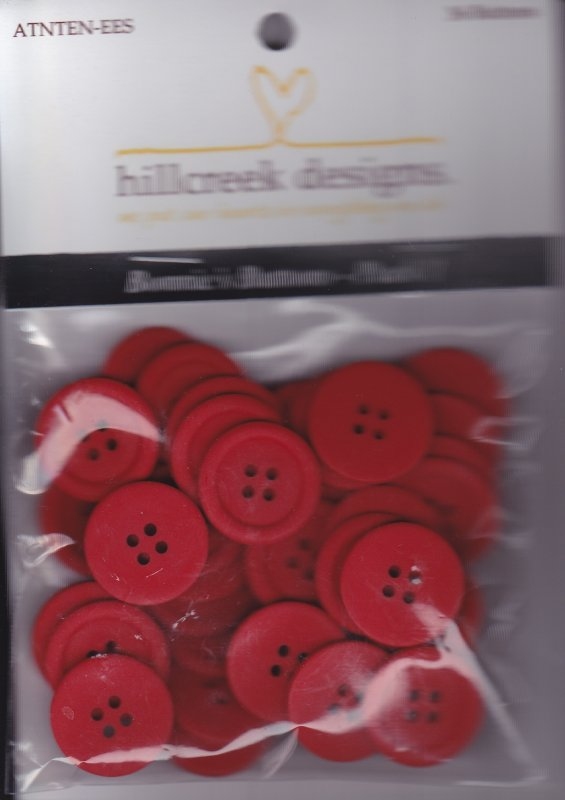 Bonnie's Buttons-Pack 1 (red)