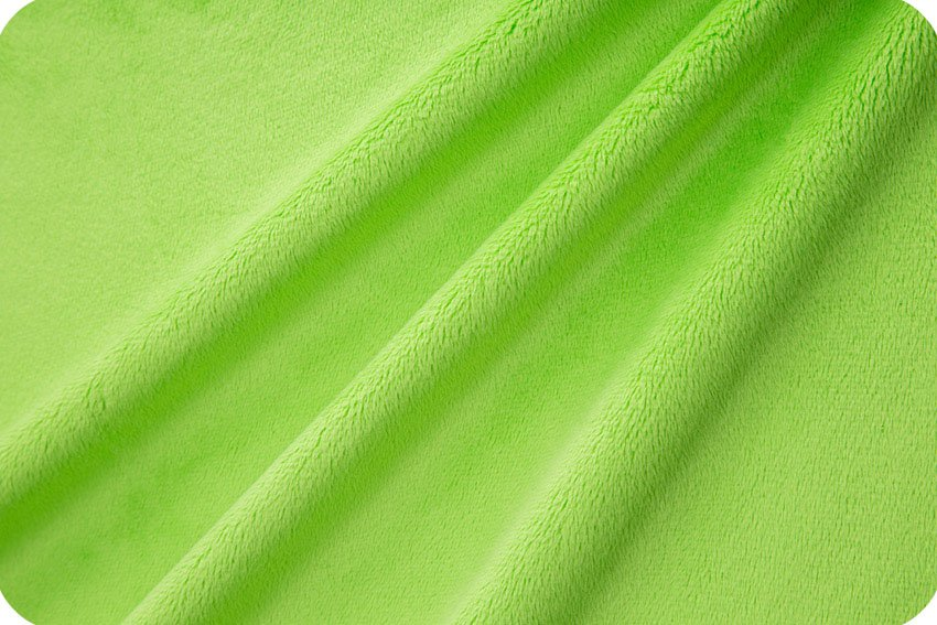 Shannon Extra Wide Solid Cuddle 3 Dark Lime