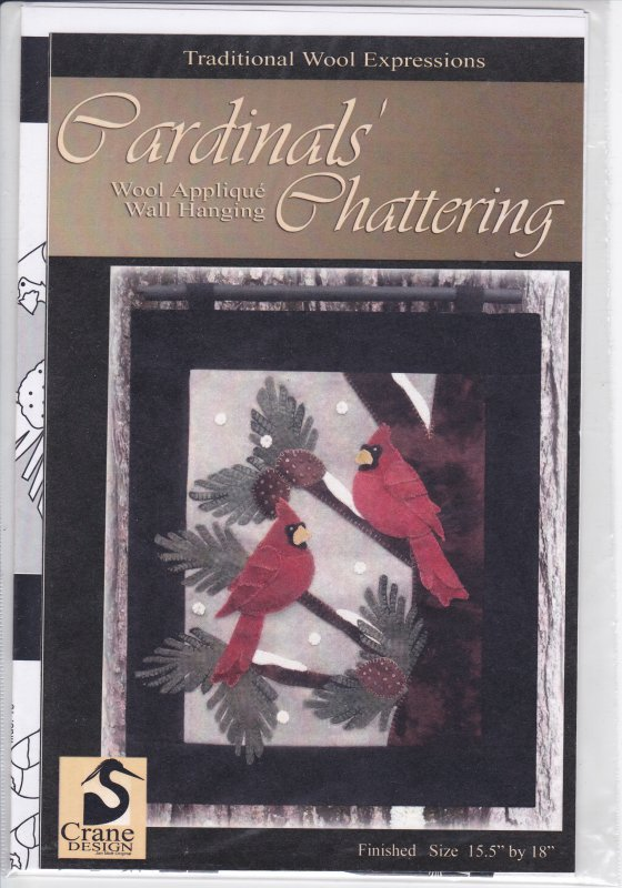 Cardinals' Chattering wool