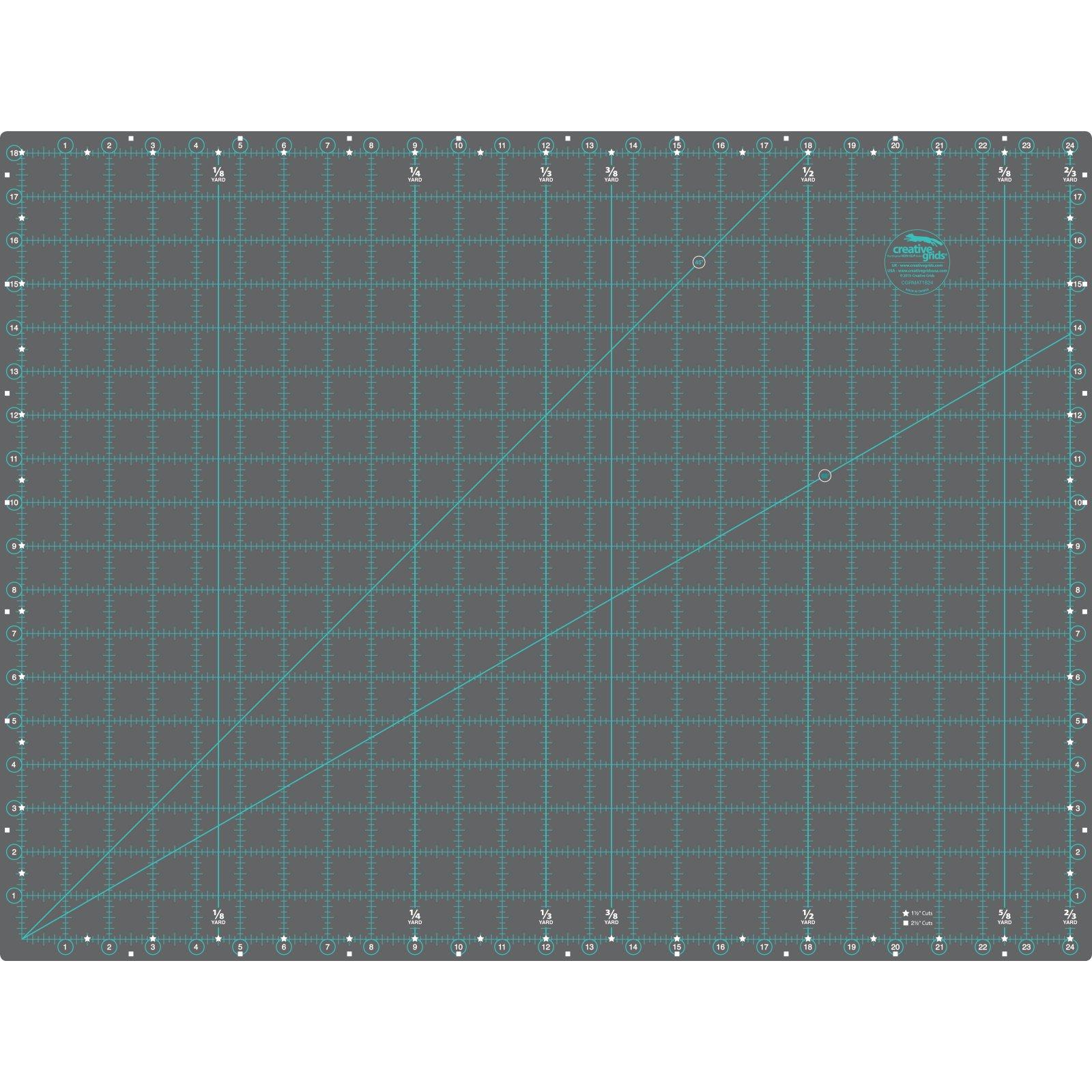 Creative Grids Ruler Cutting Mat 18x24