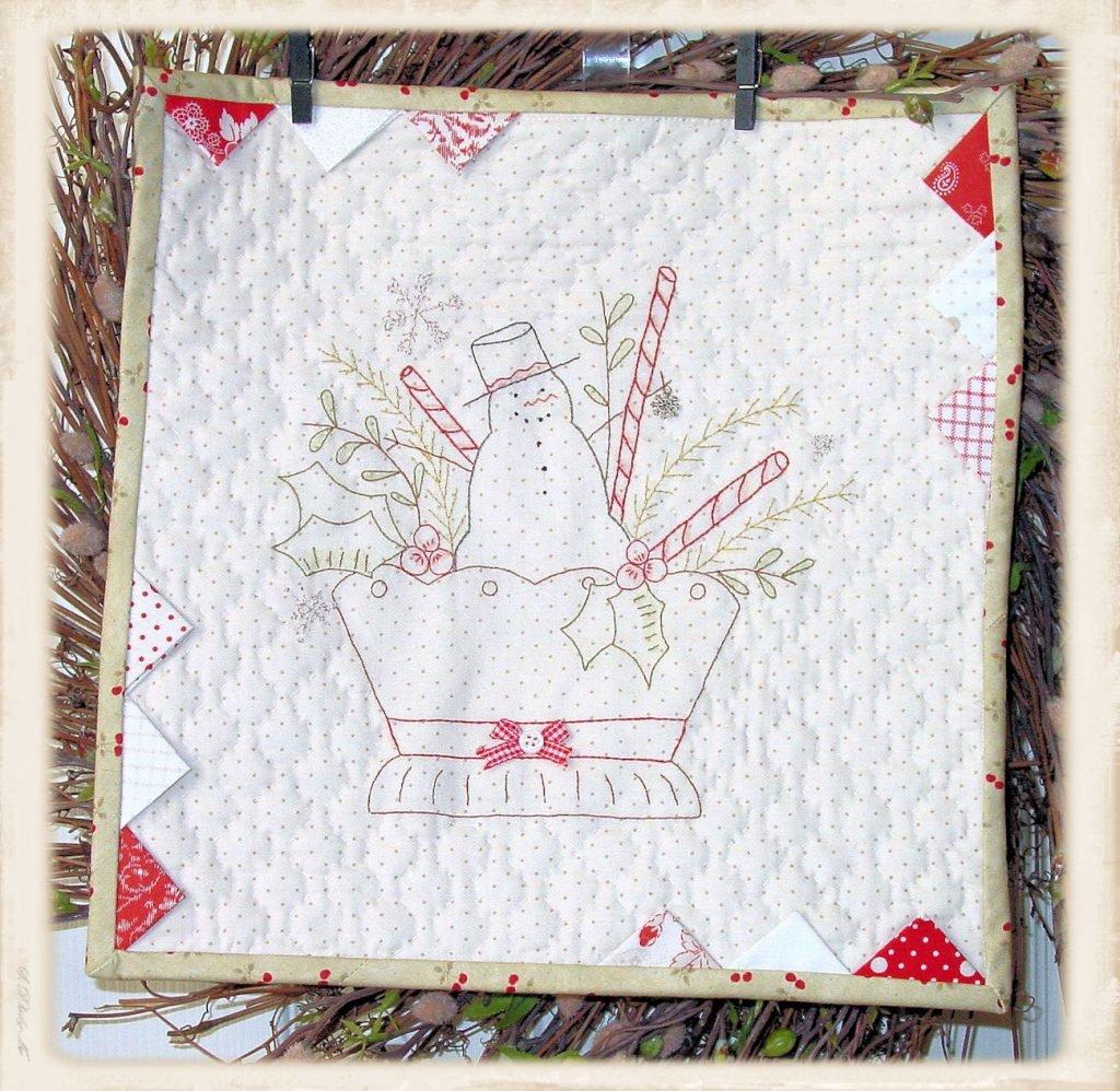 Christmas Basket by Plumcute Designs
