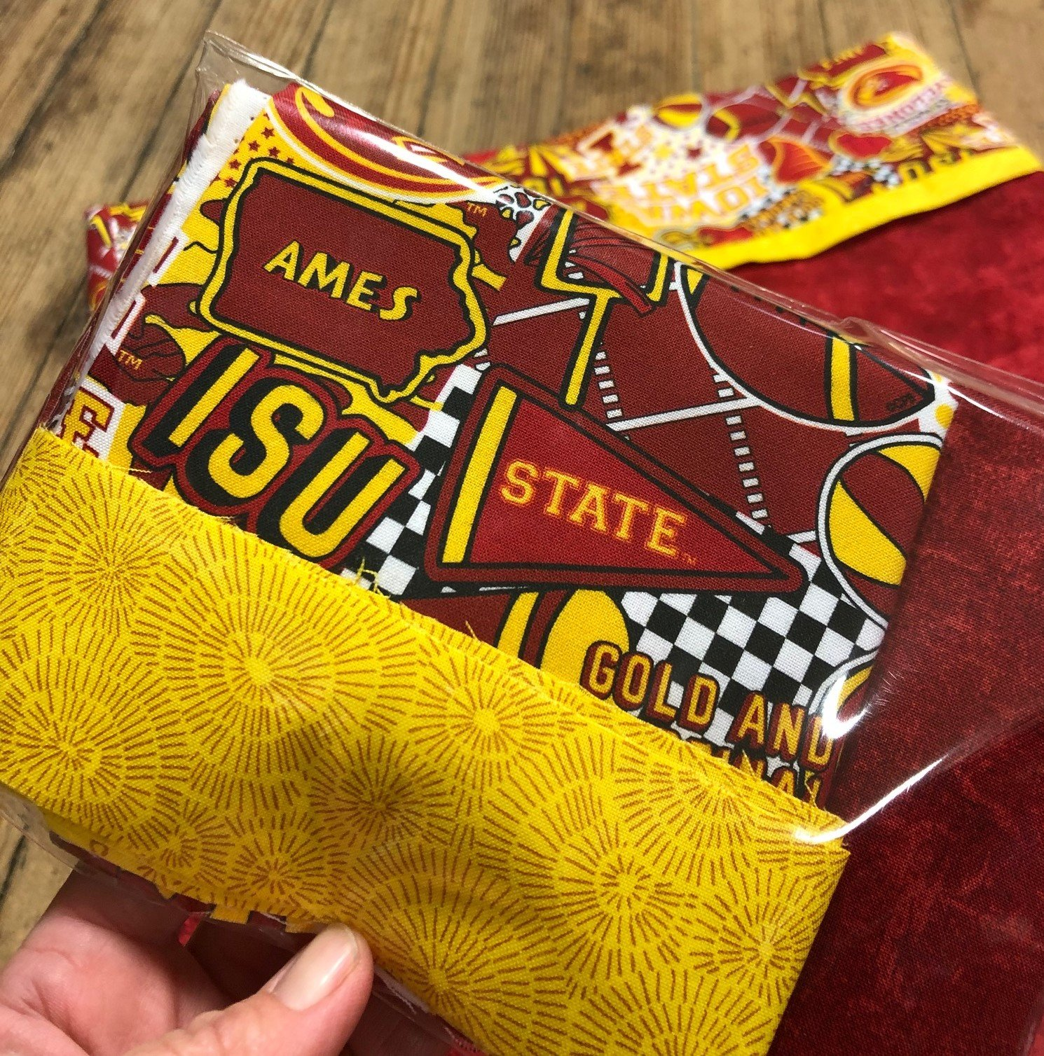 Iowa State Cyclone Pillow Case Kit