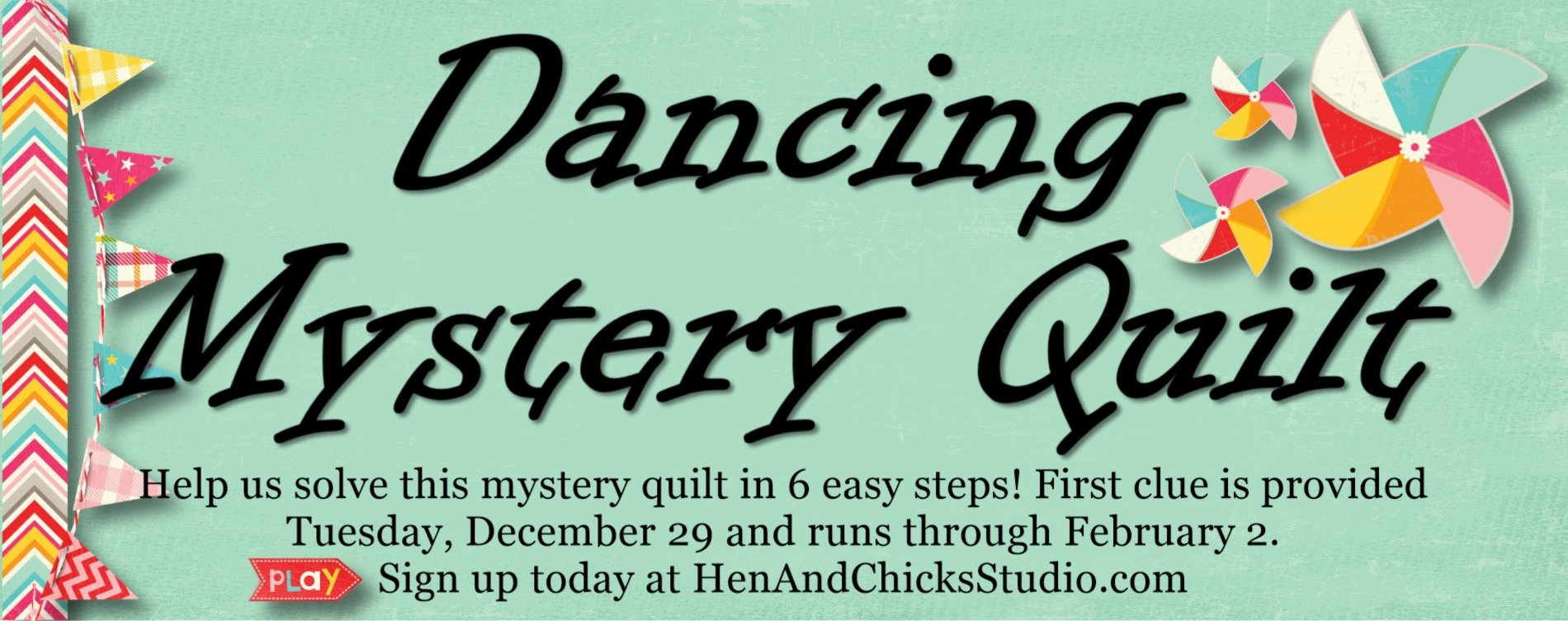 Dancing Mystery Quilt
