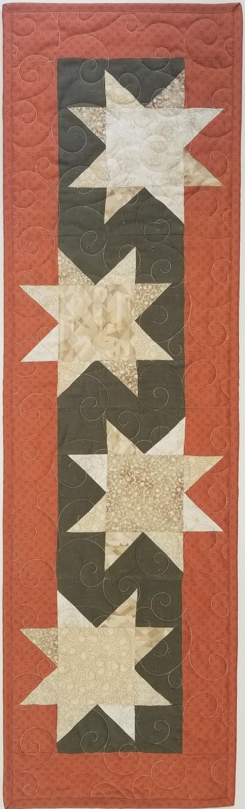 Neutral Desert Stars Fabric Kit