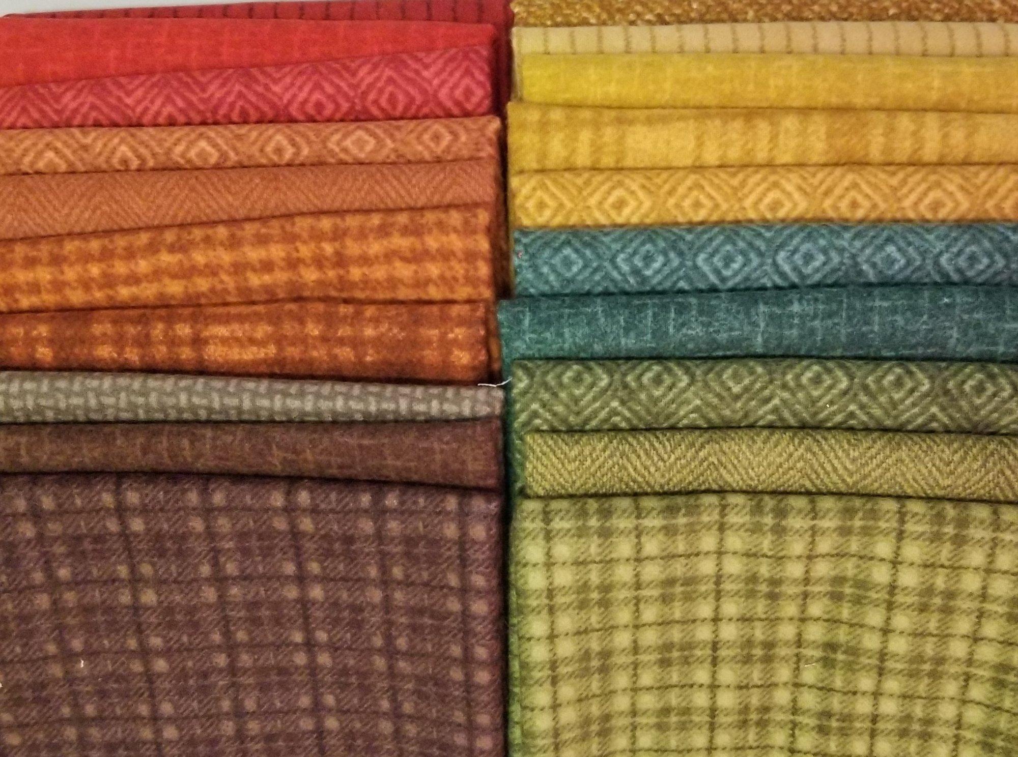 Desert Sunset Woolies Starburst Fabric Bundle
