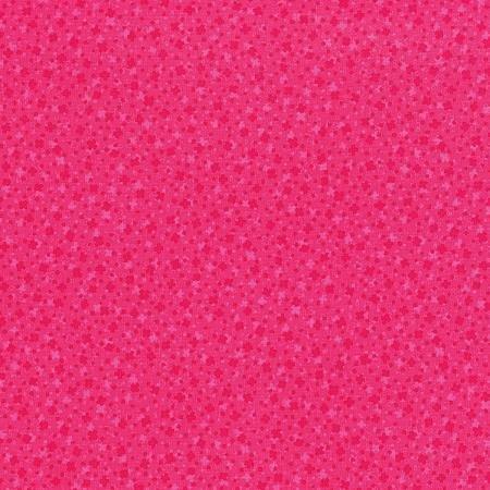 Hopscotch Square Dance Hot Pink Fabric