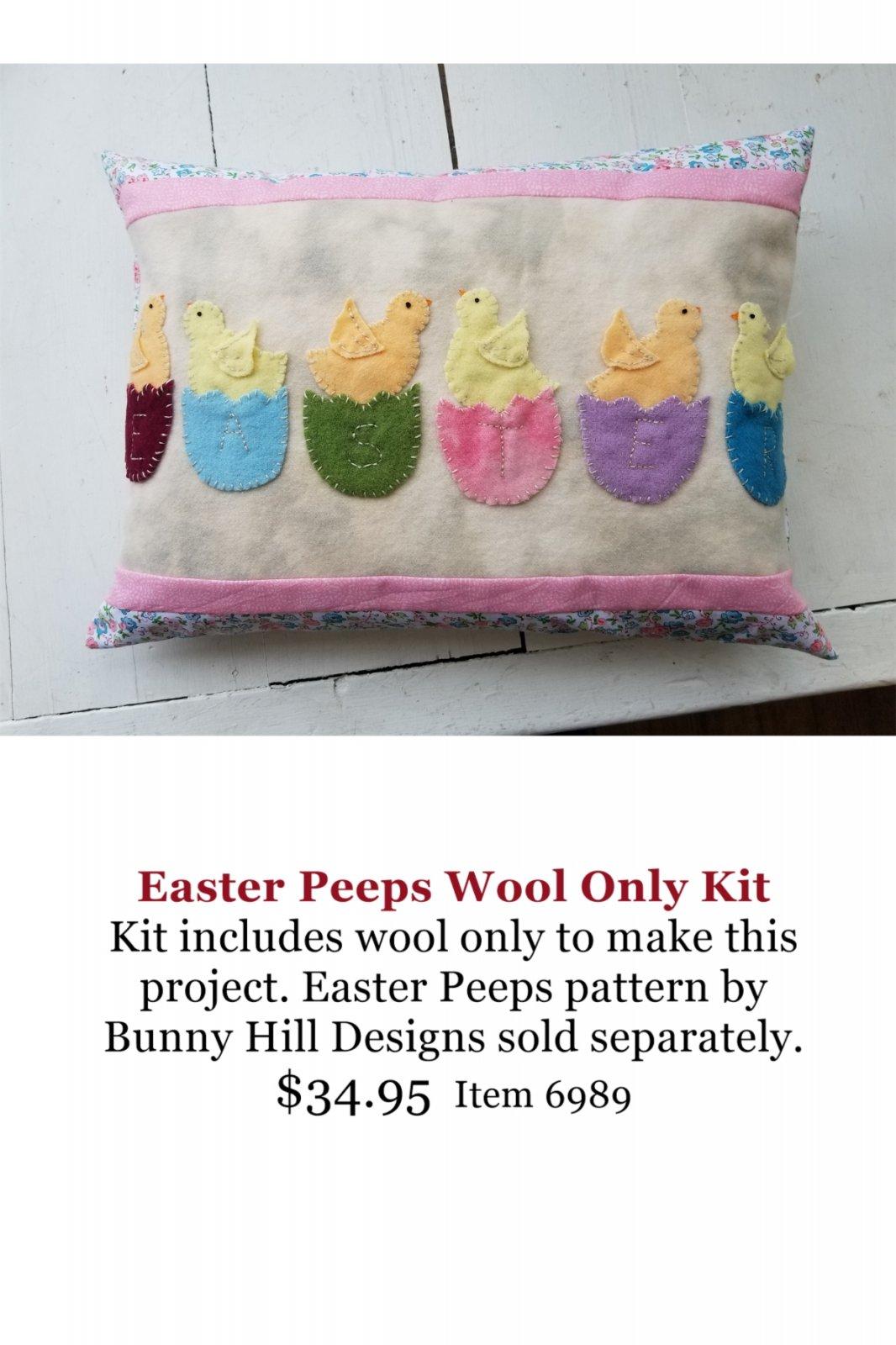 Easter Peeps Wool Kit