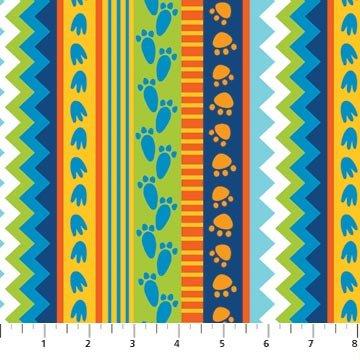 Dino Pals Stripe