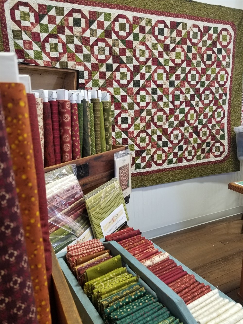 Farmhouse Christmas Grandpa's Best Quilt Kit