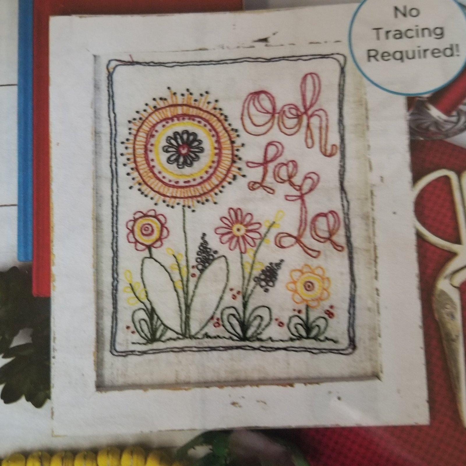 ADORNit Flower Garden Ooh La La