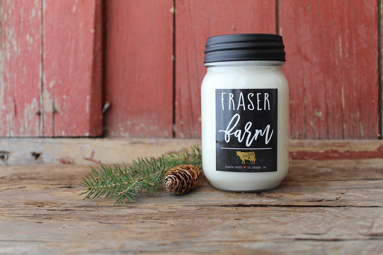 Farmhouse Mason Jar: 13 oz Fraser Farm