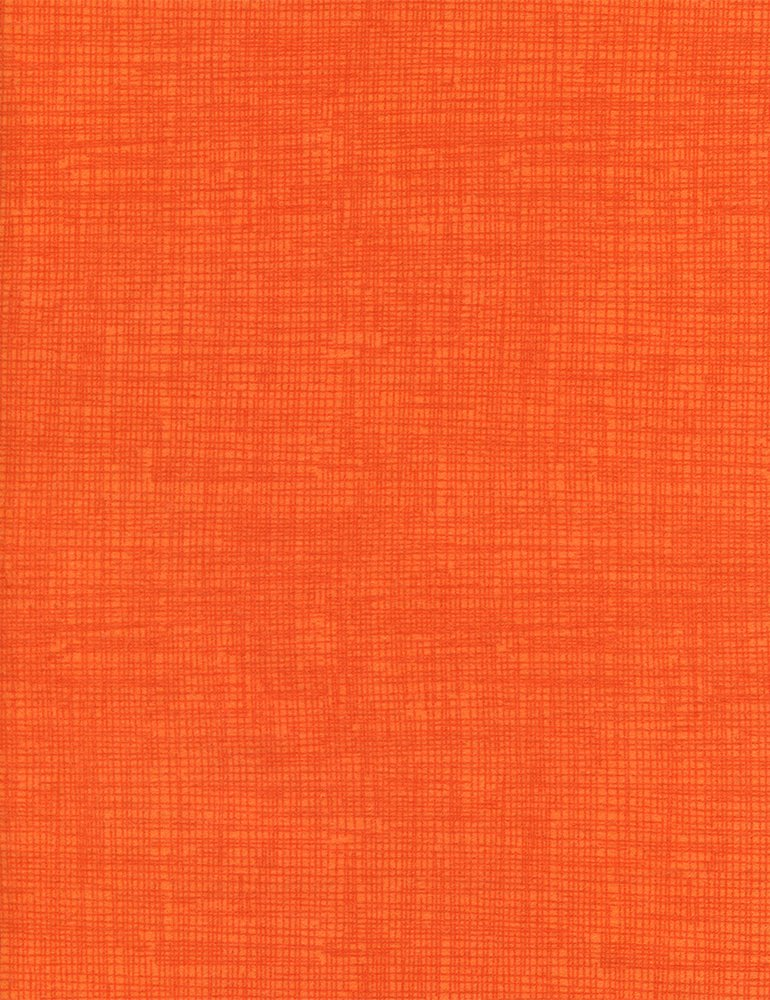 Fun Orange Screen Texture Flannel