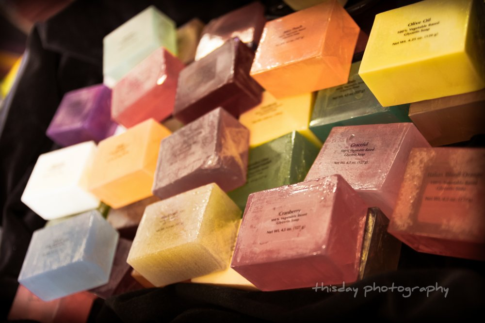 Scented Glycerine Soap