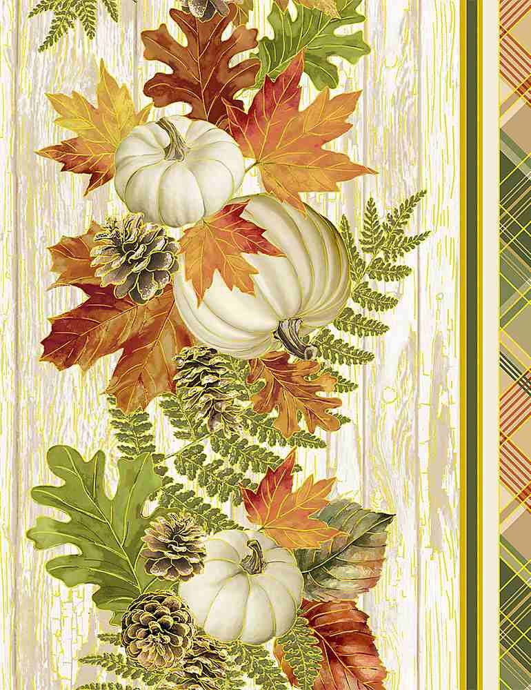Autumn Symphony Easy Striped Table Runner Fabric Kit