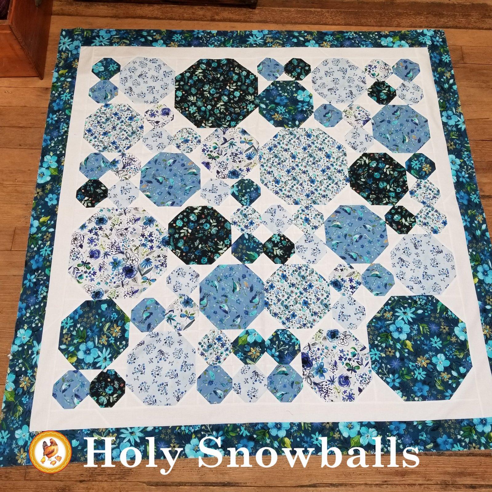 Holy Snowballs Pattern