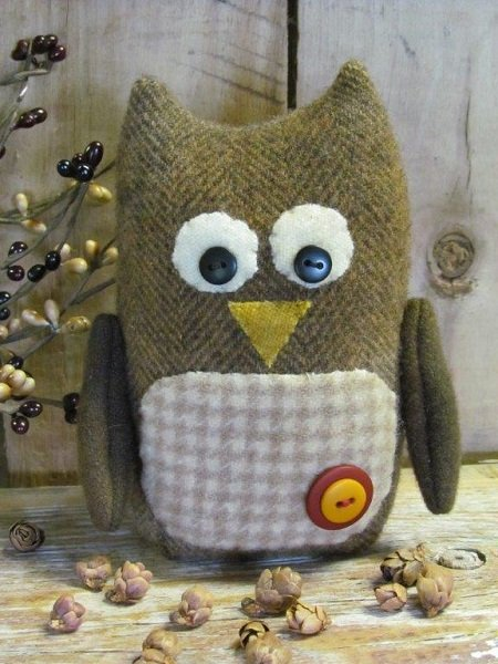 Hootie Mini Wool Pattern