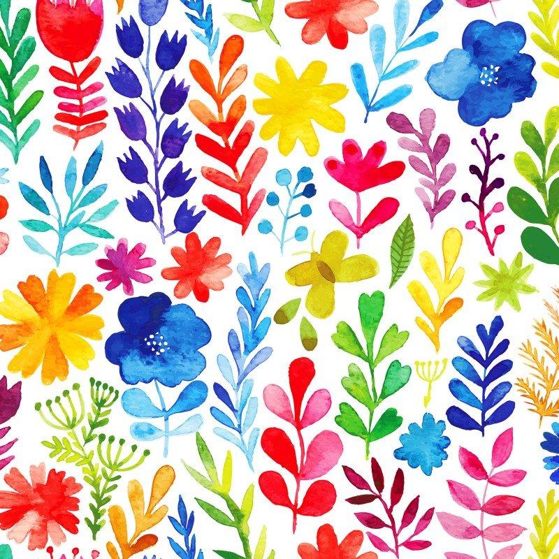 Floral Menagerie Med Floral Multi 1FMB1