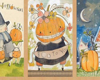 Spooky Town Happy Halloween