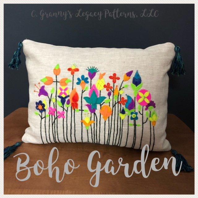 Boho Garden Wool Kit