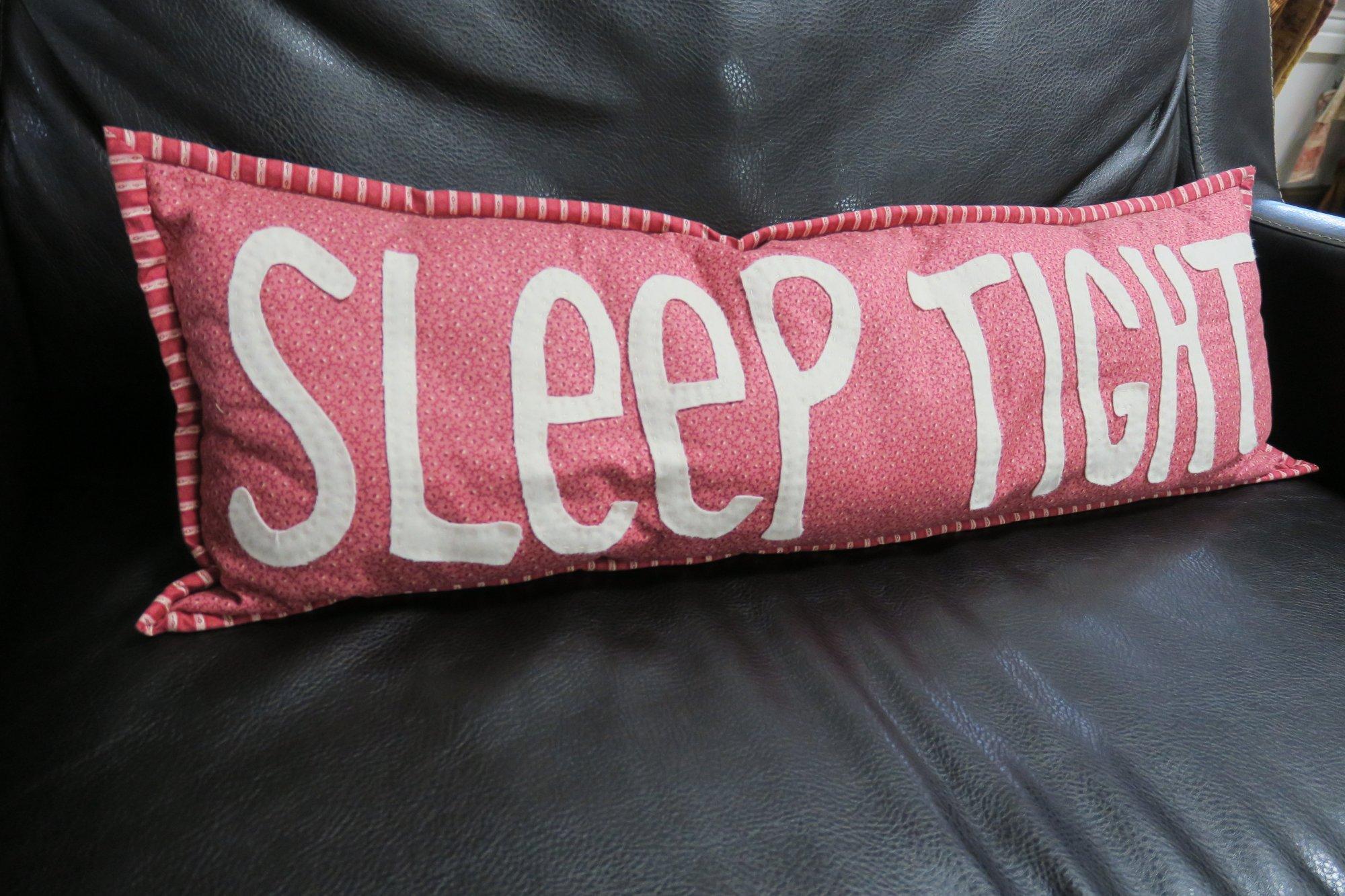 Sleep Tight Pillow Store Sample