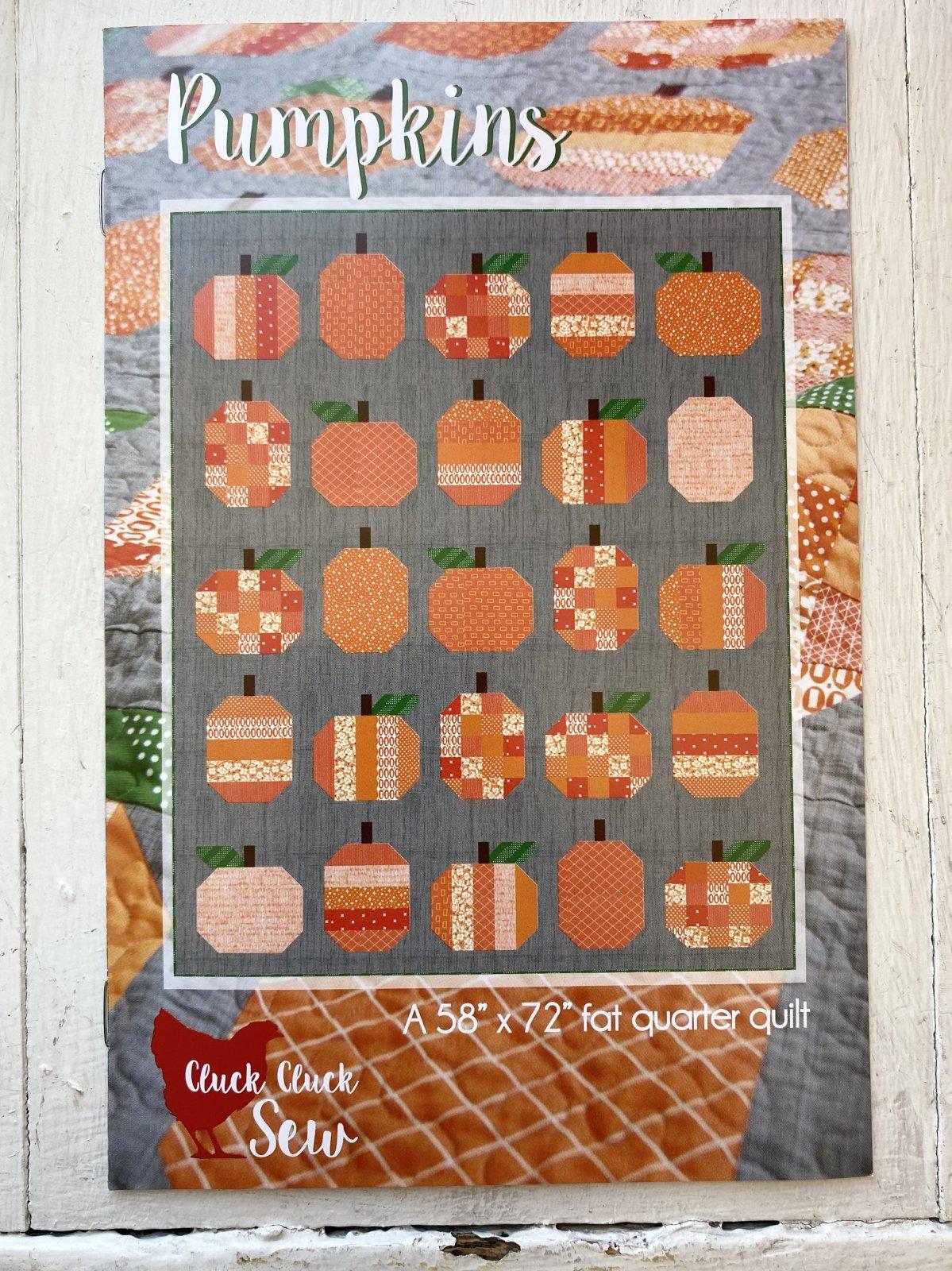 Cluck Cluck Sew: Pumpkins