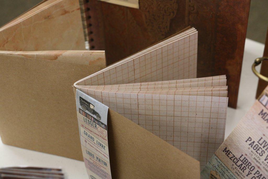 Architextures Book: Journal-Ledger 6x6