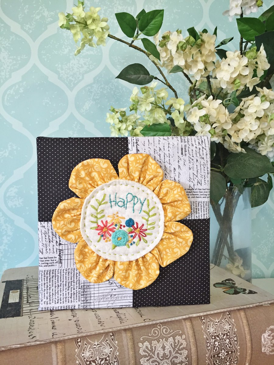Happy Flower Stitch Kit