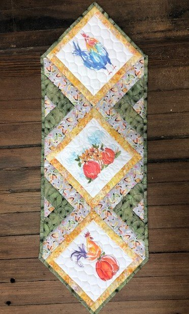 In The Middle Rooster Quilt Kit