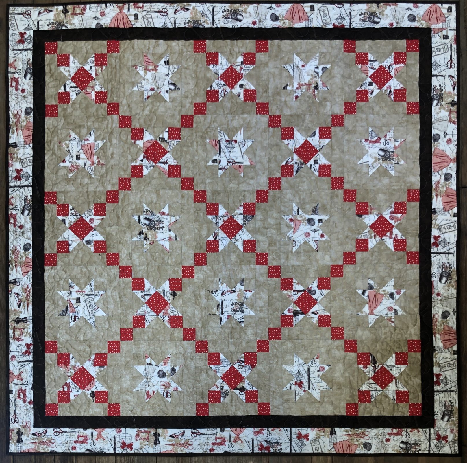With These Hands Quilt Kit