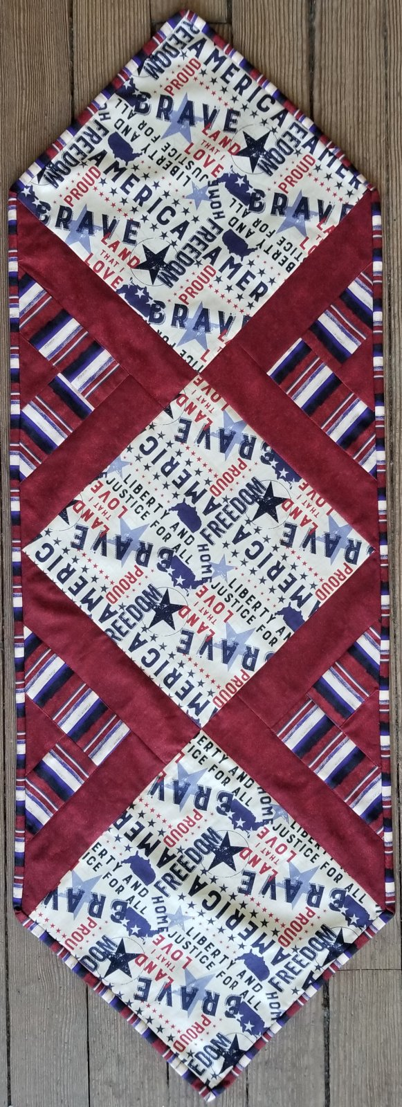 In the Middle Patriotic Fabric Kit