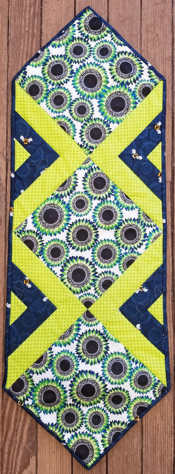In the Middle Sunflowers and Bees Fabric Kit