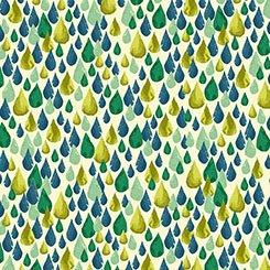 Ink & Arrow Zola Teardrops Avocado 1649 26144H